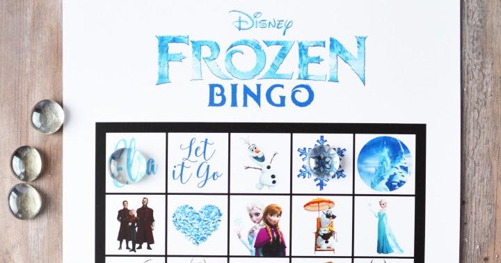 Free Printable Frozen Bingo | artsy-fartsy mama