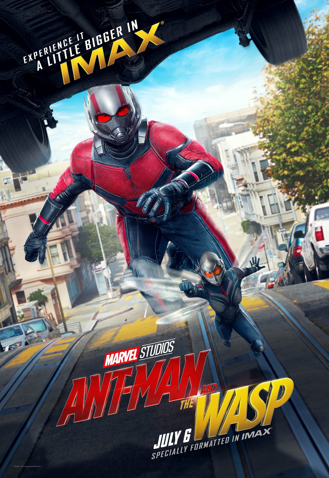Marvel's Ant-Man and the Wasp IMAX poster