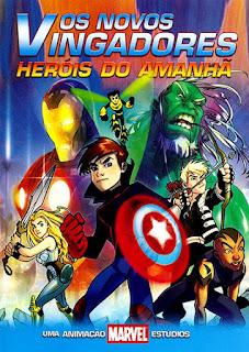 Os Novos Vingadores: Heróis do Amanhã - DVDRip Dual Áudio