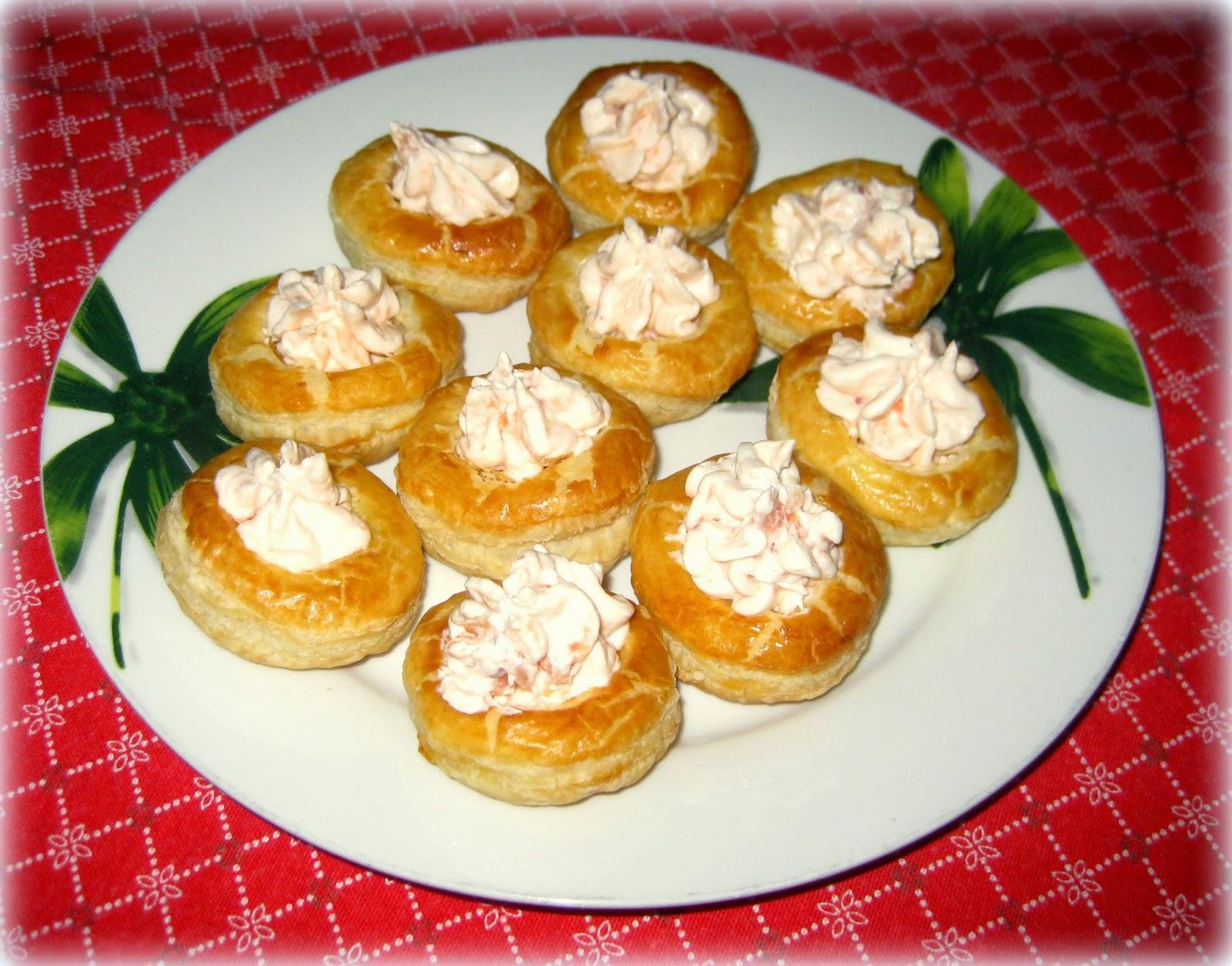 Voulevant con mousse di salmone - Fragola e Cannella
