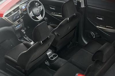 Interior Daihatsu Sirion