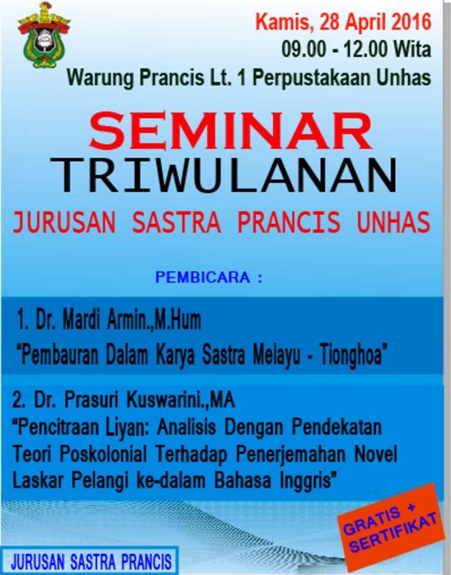 Seminar Triwulan