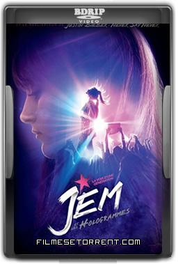 Jem e as Hologramas Torrent - DVDRip Dual Áudio (2016)
