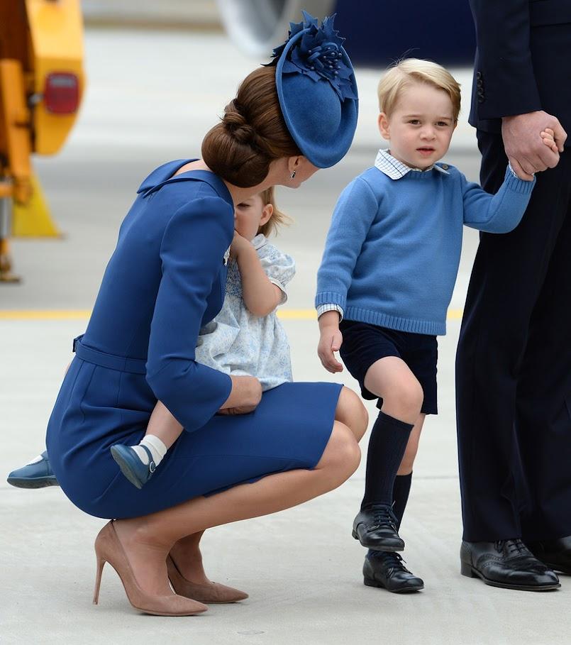 Trik, który stosują William i Kate wobec swoich dzieci. Też tak robię!