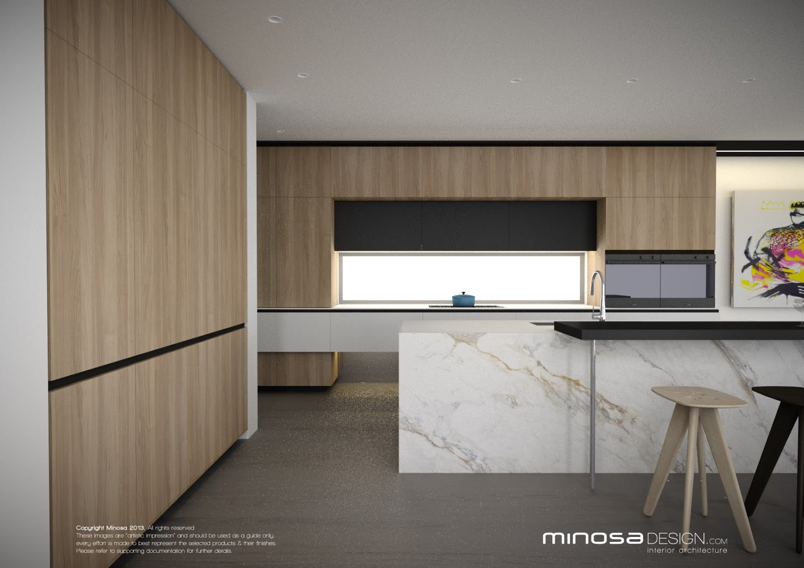 Minosa: The Modern Living Room - Kitchen, Lounge & Dine