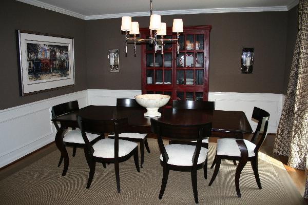 Christa Delgado, Design Inc.: Design Dilemma Answer: Chocolate ... - Brown Dining Room