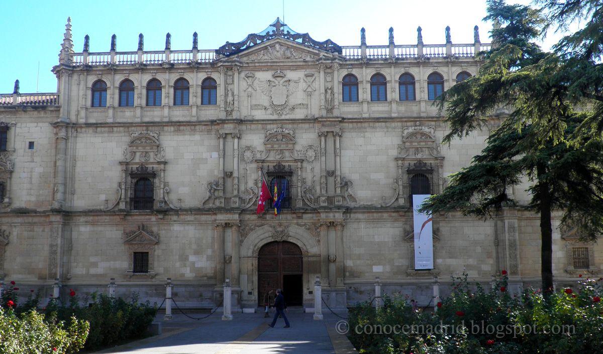 Conocer madrid universidad de alcal de henares - Pintores alcala de henares ...
