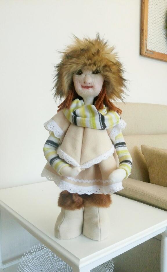 DIY - Skandynawska lalka Mojej Mamy