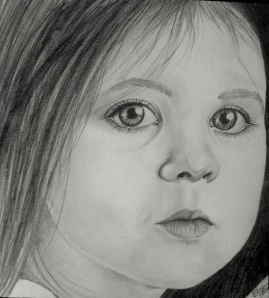 Pencil Sketches And Drawings How To Draw A Young Girl S Face