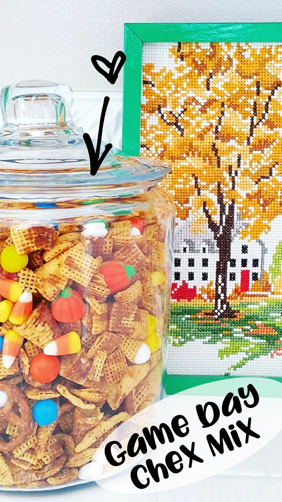 Raising Up Rubies- Blog: Game Day Chex Mix