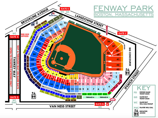 fenwaynation u2014fenway seating chart  papi  pedroia  betts