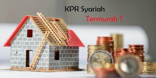 kpr syariah termurah 2018