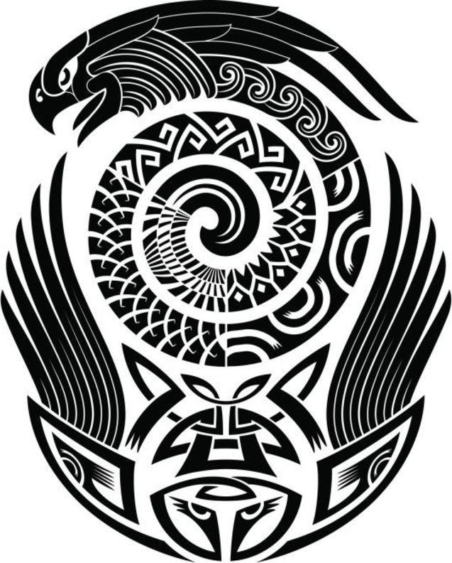 Tatuajes Maories Diseños
