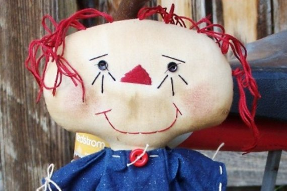 Handmade Teddy Bears and Raggedies: Handmade Annabelle Rag