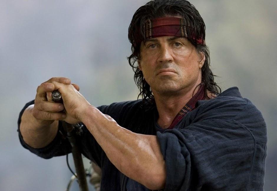 """Sylvester Stallone sugere início da produção de """"Rambo 5"""""""
