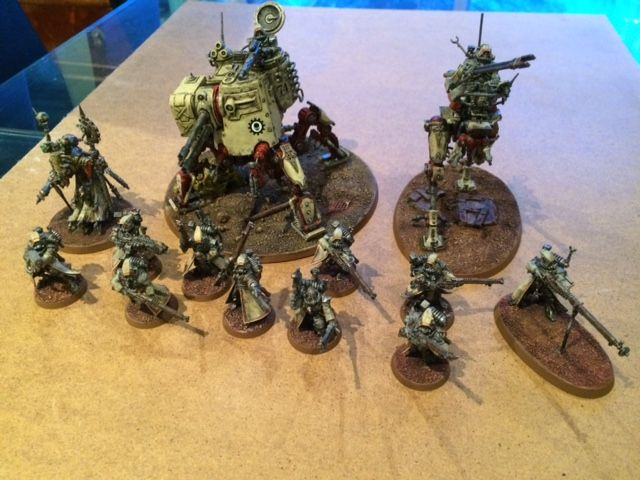 What's On Your Table: Adeptus Mechanicus - Skitarii