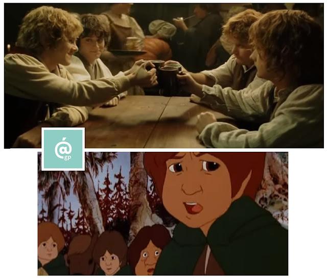 Hobbits - El Señor de los Anillos: Peter Jackson Vs Ralph Bakshi - JRRTolkien - ÁlvaroGP - el fancine - el troblogdita