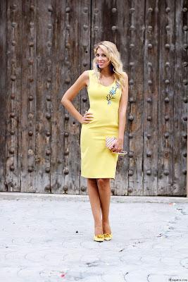 Zapatos para Vestido Amarillo