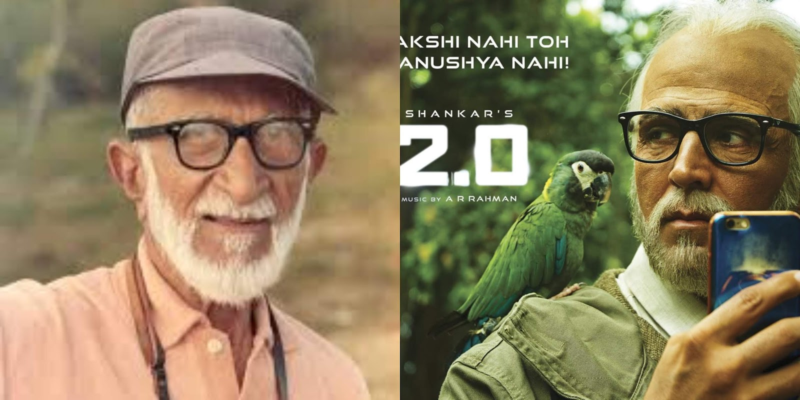 Akshay's role is inspired from a real life personality in 2.0: Meet the real BIRDMAN of India