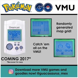 Guacasaurus, ses jeux VMU, les différentes news Jj