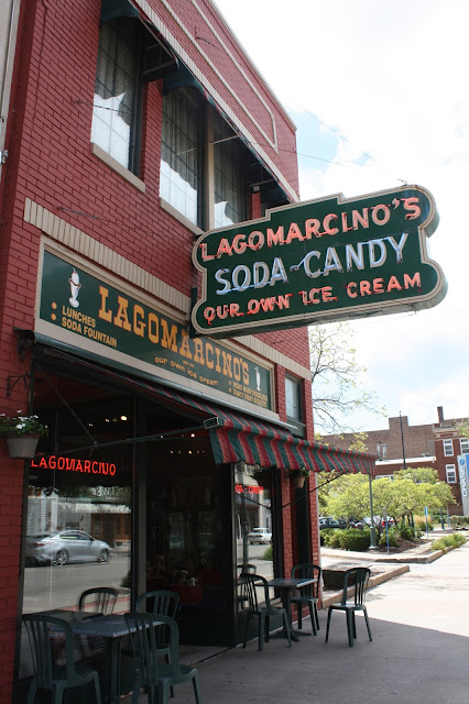 Lagomarcino's Soda Fountain in Moline, Illinois