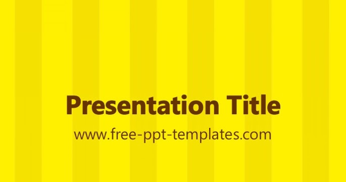 Free Powerpoint Template Education