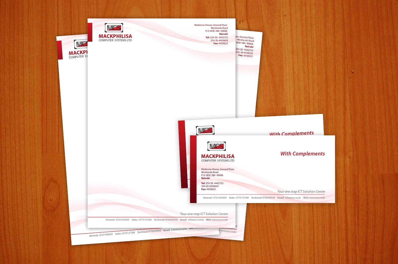Thiết kế in ấn tiêu đề thư đẹp giá rẻ tại Hà Nội Mackphilisa
