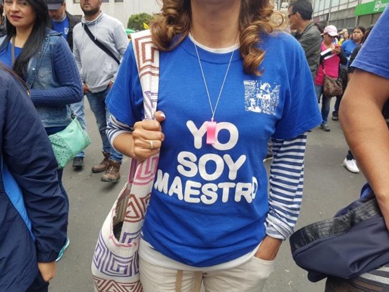 """""""Las propuestas de Santos no están ni cerquita de las necesidades"""", Paro del Magisterio se mantiene"""