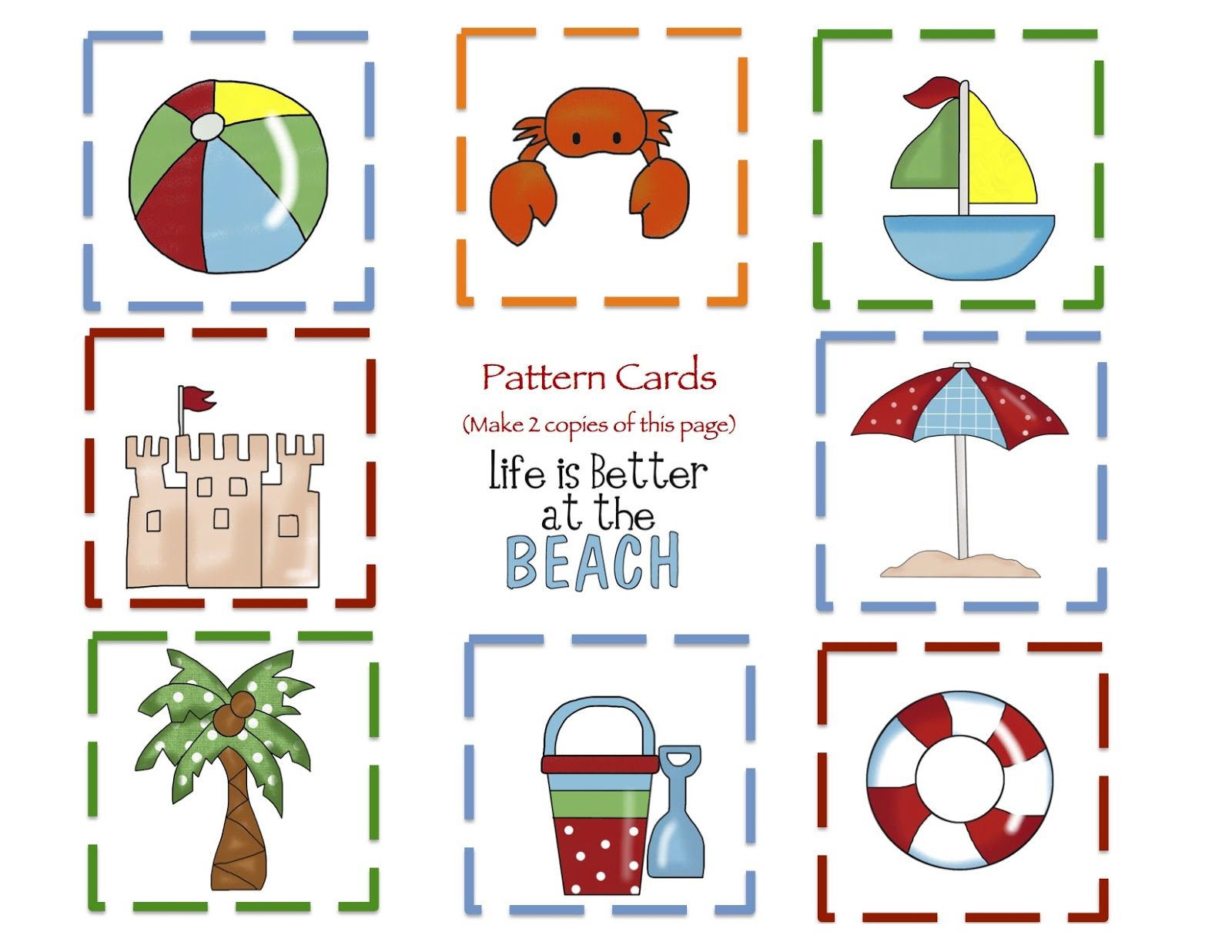 Preschool Printables January