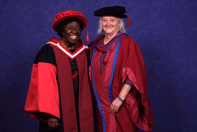 Ghana's Dr. Letitia Obeng, the first Ghanaian woman to hold a PhD honoured by Liverpool School of Tropical Medicine (LSTM)