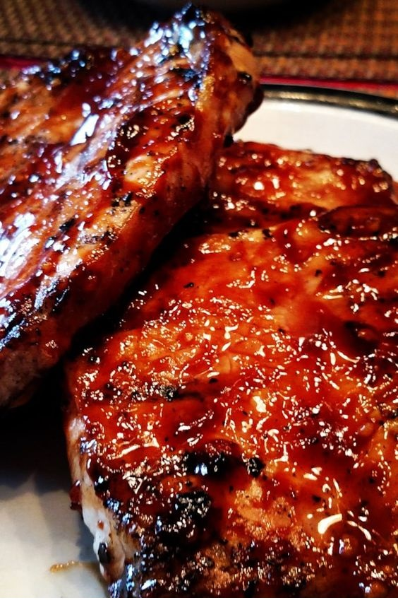 World's Best Honey Garlic Pork Chops