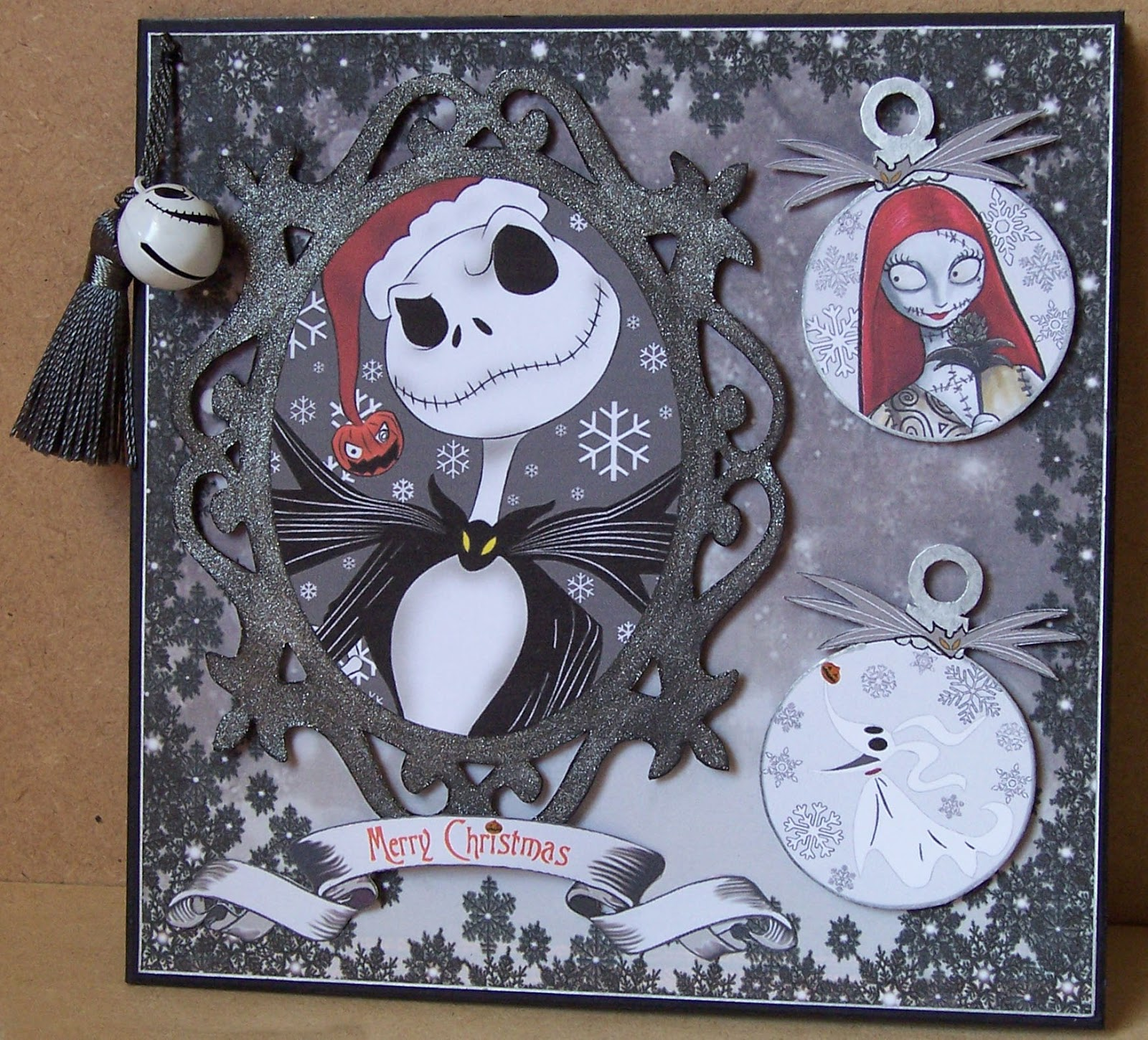 Whitch Craft: Nightmare Before Christmas Christmas Card