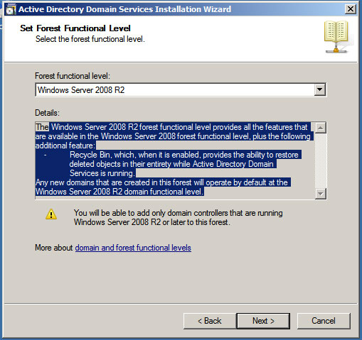 TechSpot: Installing and Configuring Active Directory Domain