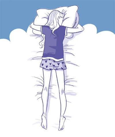 les positions pour dormir les positions au lit conseils dormir paisiblement. Black Bedroom Furniture Sets. Home Design Ideas