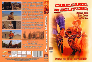 Carátula: Cabalgar en solitario (1959) Ride Lonesome
