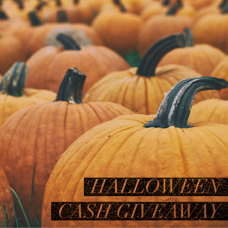 Enter the Halloween Cash Giveaway. Ends 11/8