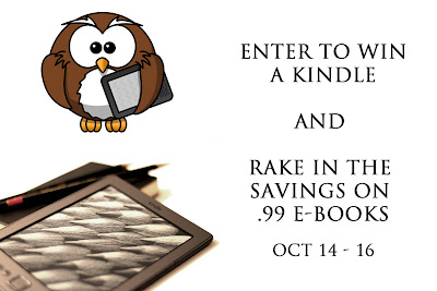 Rake in the savings & enter to win a Kindle Oct 14 - 16