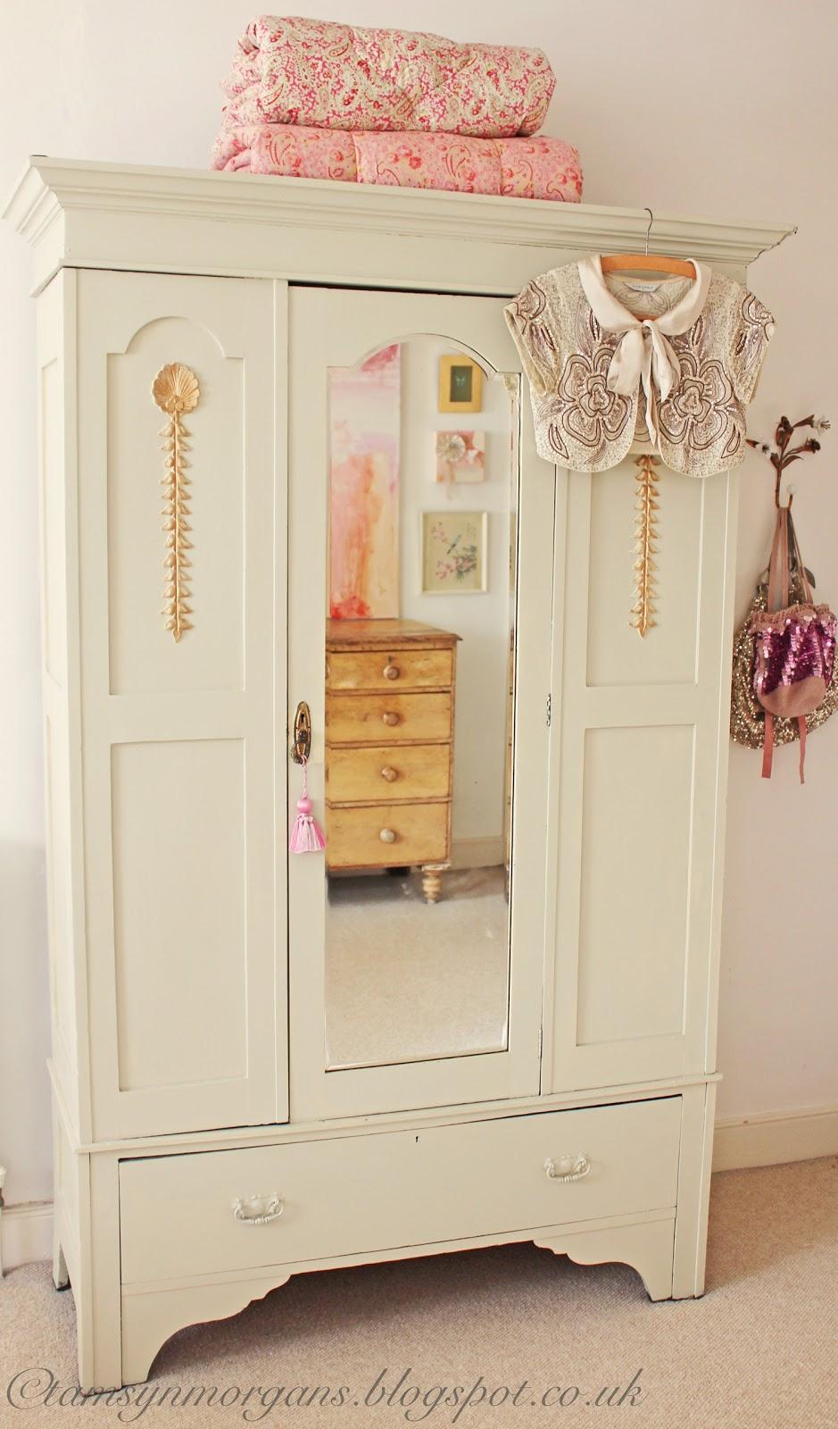 My shabby chic wardrobe…