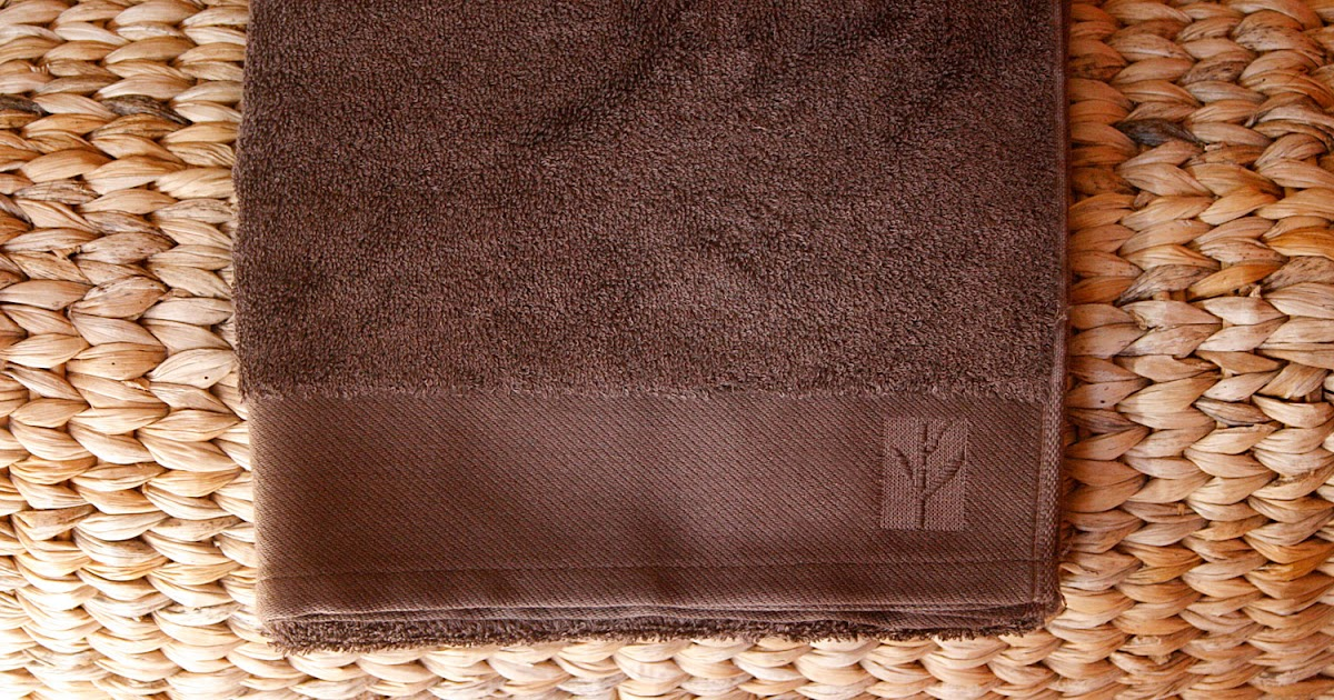 journal capillaire d 39 edelweiss serviette en viscose de bambou. Black Bedroom Furniture Sets. Home Design Ideas