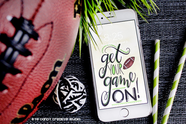 football art, free football background, free download, hand lettering