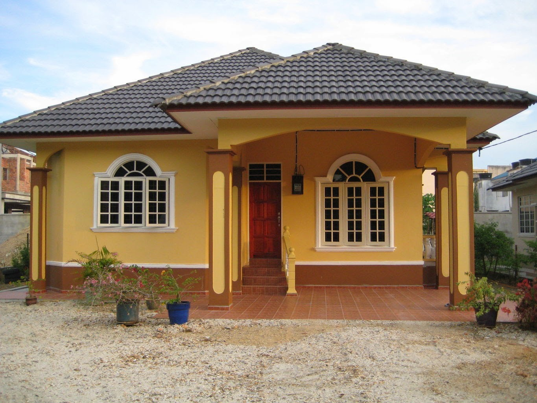 model rumah kampung 2
