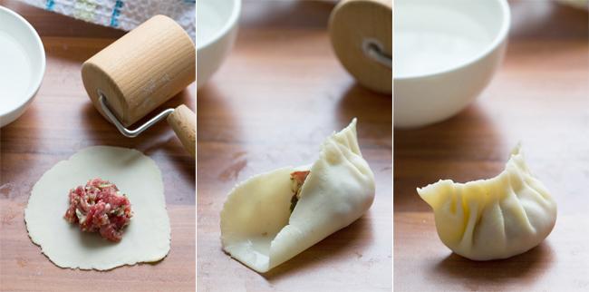 dim sum - chińskie pierożki na parze nadziewane mięsem