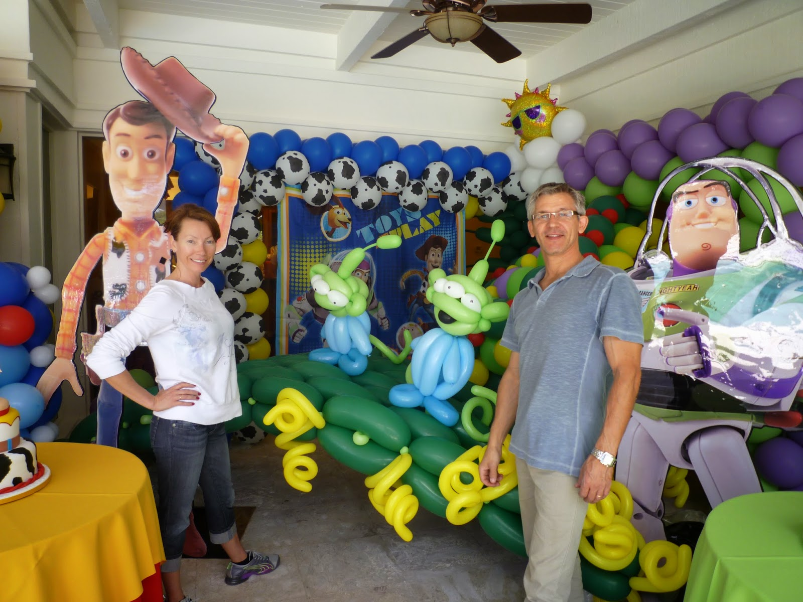 Woody, Buzz, and all the Toy Story characters!
