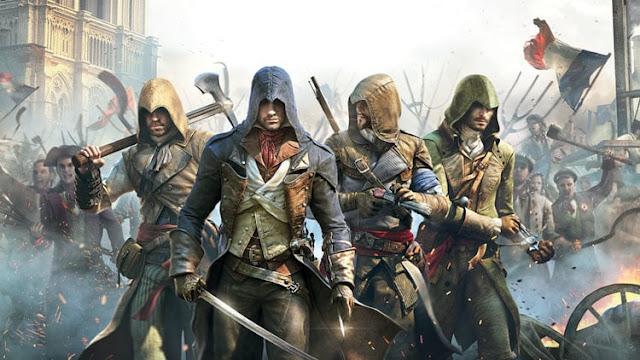 Vai lá por que está de graça: Assassins Creed Unity