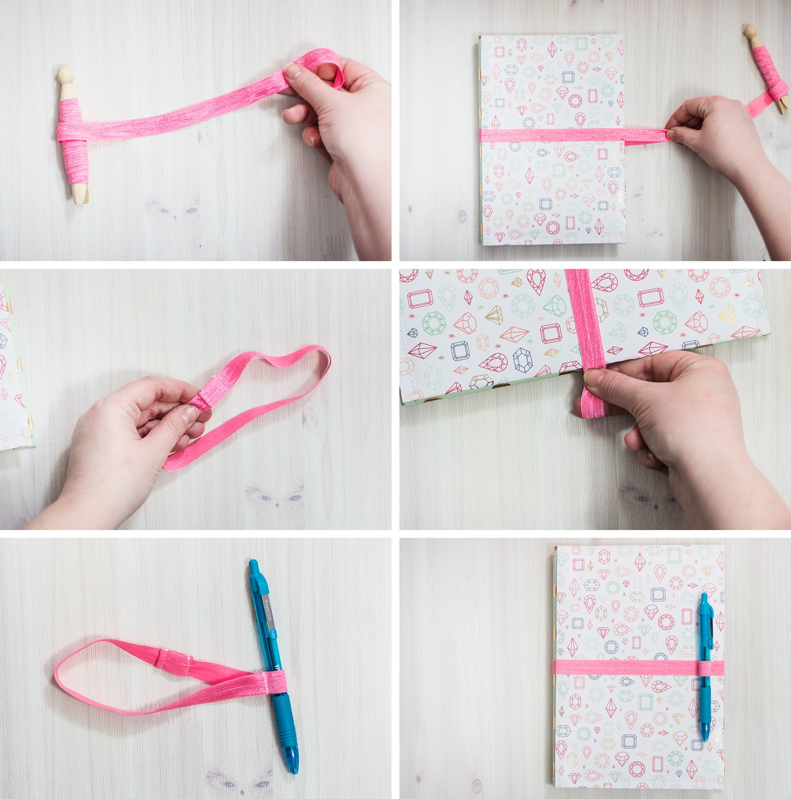 live it love it make it make it notepad cover and pen keeper