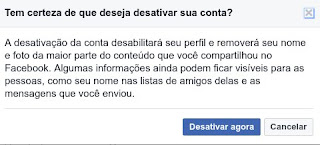 Como ativar o Facebook de novo