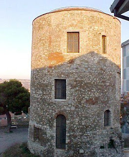 A tower still survives from Potenza's ancient castle