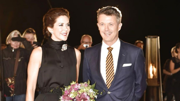 Crown Prince Frederik and Crown Princess Mary Presided Over the 2015 Crown Prince Couple's Awards