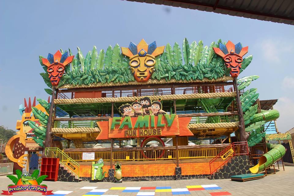Informasi Lokasi Dan Harga Tiket Masuk Wisata Predator Fun