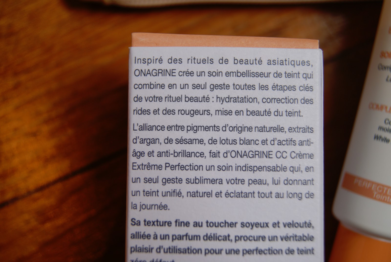 CC Crème ONAGRINE